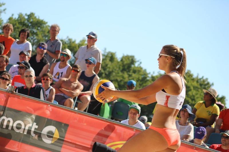 Beachvolleyball Turnier als eine der Veranstaltungen in Cuxhaven