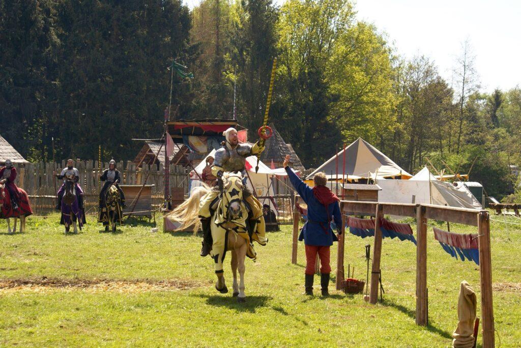 Mittelalterspektakel als eine der Veranstaltungen in Cuxhaven
